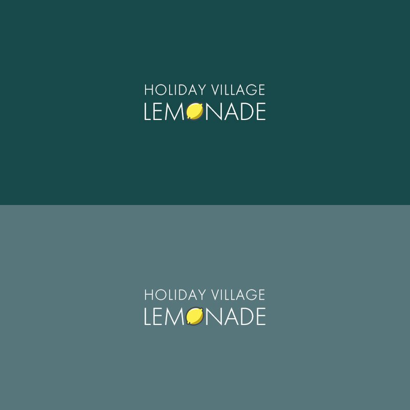 logo doma v pitere - Holiday Village Lemonade Company Logo